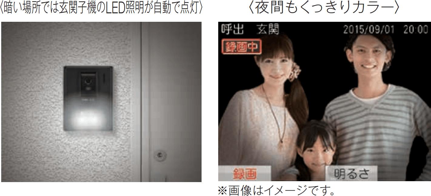 マンション・アパート向け(集合住宅用)インターホンシステム「パトモ」は3.5 型カラー画面